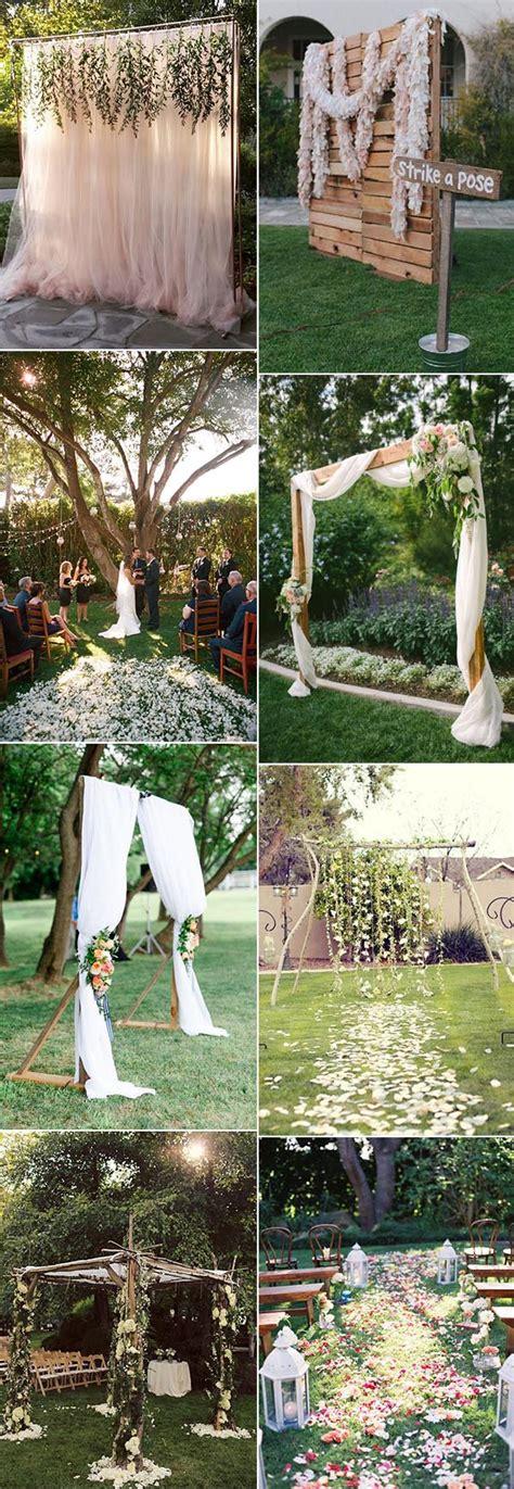 backyard wedding food ideas 30 sweet ideas for intimate backyard outdoor weddings