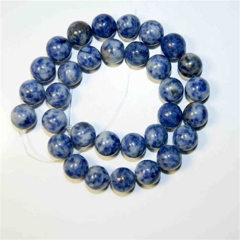 materials for jewelry dot white blue vein sodalite for jewelry
