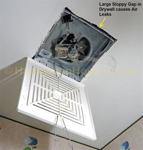 how to install a bathroom fan with a light how to install a soffit vent and ductwork for a bathroom