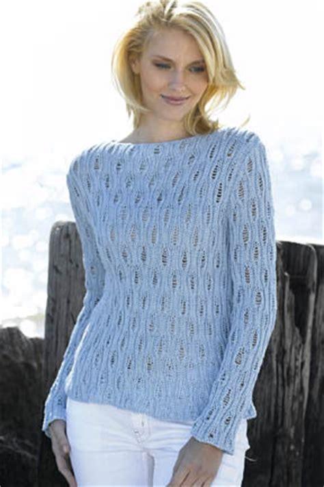 free boat neck sweater knitting pattern lace pullover knitting patterns in the loop knitting