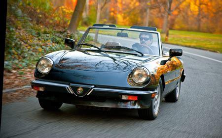 1983 1990 alfa romeo spider collectible classic automobile magazine