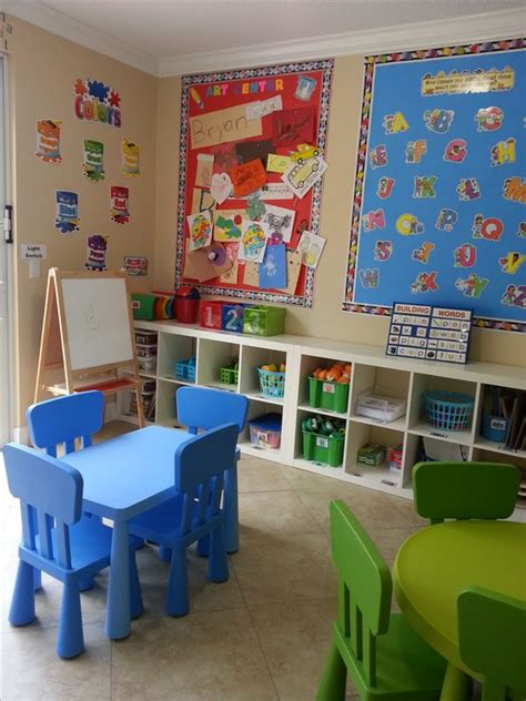 home daycare decor two small tables home daycare ideas the place
