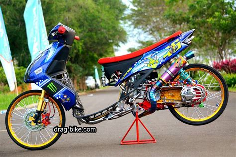 Modif Mio Soul Drag 35 foto gambar modifikasi mio soul gt thailook airbrush