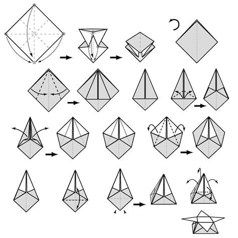origami box step by step doodlecraft origami favor sunburst box