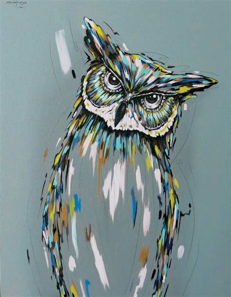 acrylic painting ideas animals 25 unique owl canvas paintings ideas on owl