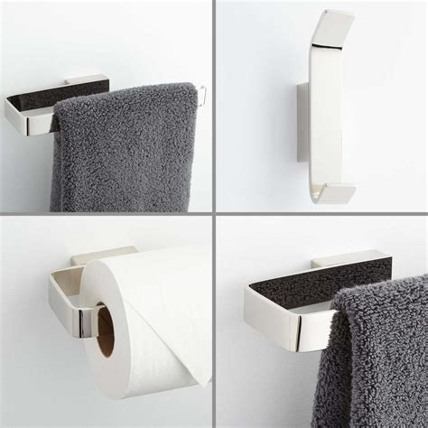 bathroom accessory set newberry collection 4 bathroom accessory set bathroom
