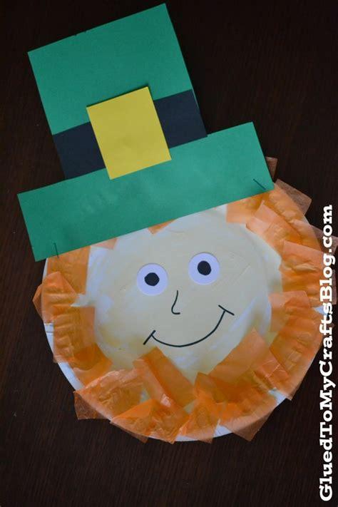 leprechaun craft for leprechaun kid crafts a owl