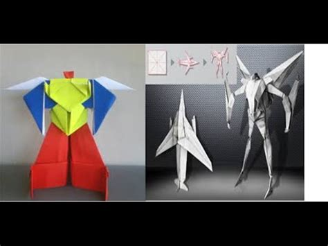 how to make a origami robot origami robot power ranger origami robot transformer