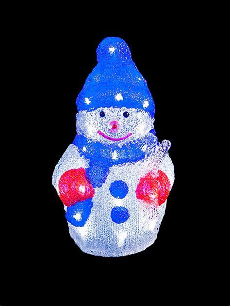 outdoor light up snowman light up acrylic santa snowman reindeer outdoor