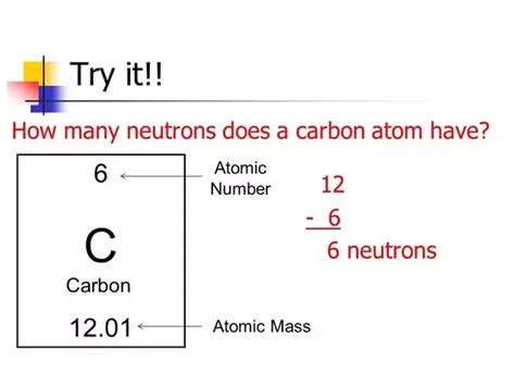 Carbon Number Of Protons by How Many Protons Neutrons And Electrons Does Carbon