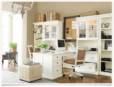 partner desk home office neutral home office with partners desk office