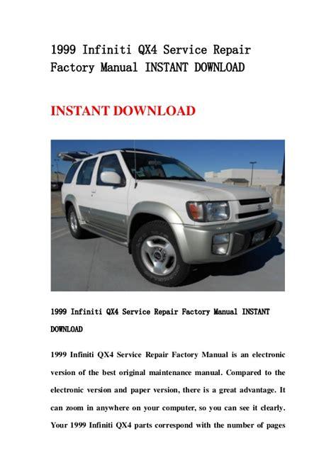 car repair manual download 1996 infiniti i seat position control 1999 infiniti qx4 service repair factory manual instant download