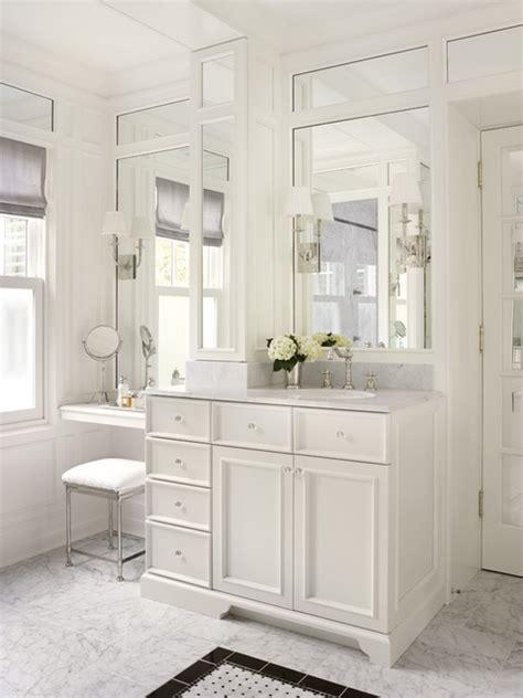 makeup vanity in bathroom bathrooms
