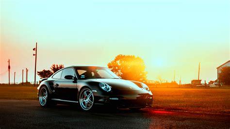 Car Sunset Wallpaper by Hd Wallpaper Porsche 911 Turbo Roadster Sunset