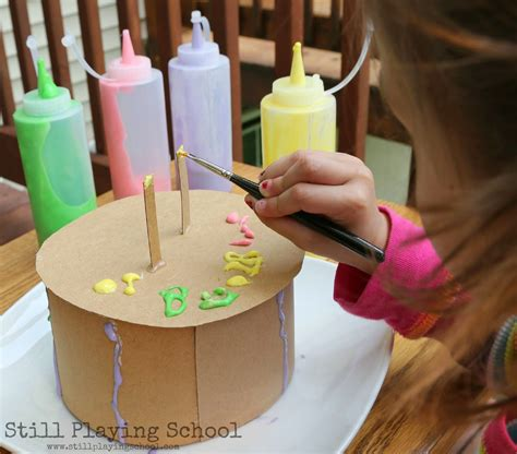 cake craft for paint cake decorating still school