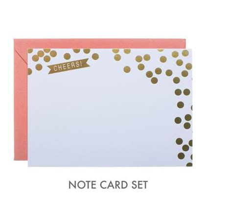 card set jess lc webster cheers note card set
