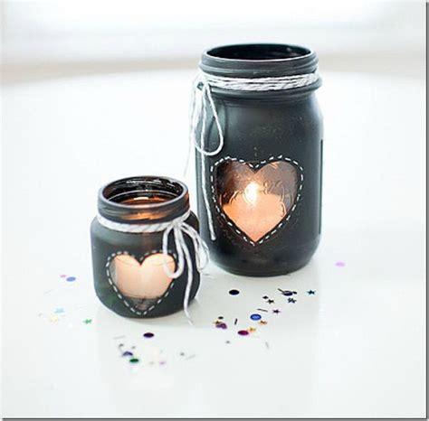 chalk paint glass jars chalkboard paint votives jar crafts
