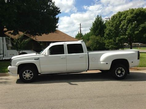 sell used 2006 chevy western hauler 3500 lt silverado leather heated seats sharp duramax in