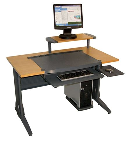 modern wood computer desk wood computer desk for home office ideas