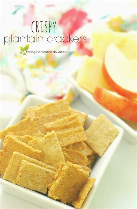 crackers for toddlers crispy plantain crackers great for toddlers and