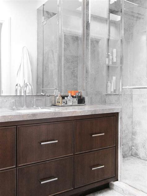 waterfall bathroom vanity vanity with waterfall edge countertop design ideas