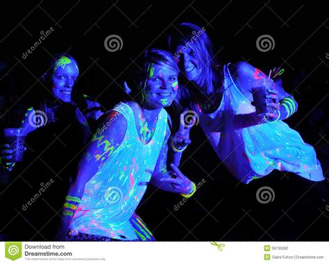 glow in the paint south africa glow run port elizabeth 2014 south africa editorial