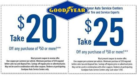 rubber st ch promo code goodyear coupons goodyear tire coupons coupons