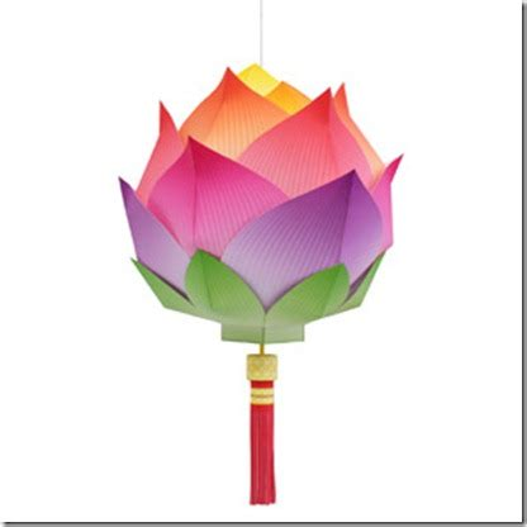 lotus flower paper craft lotus flower paper lantern