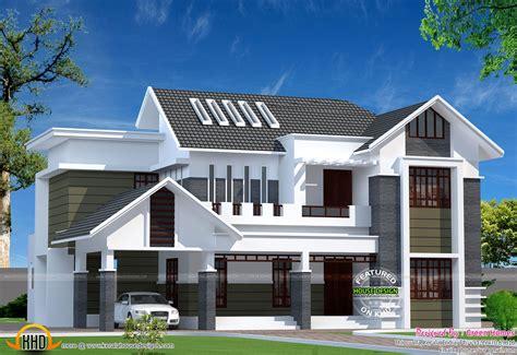 log house designs kerala home 2800 sq ft modern kerala home kerala home design and