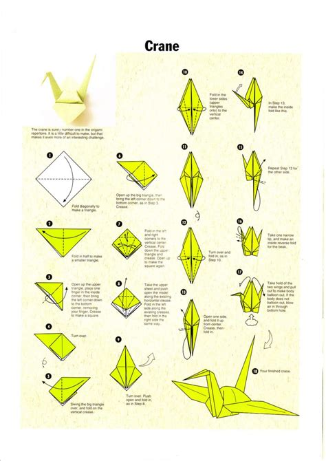 make an origami crane origami make origami bird steps how to make paper parrot