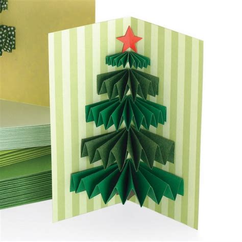 how to make a 3d tree card 3d tree handmade card idea