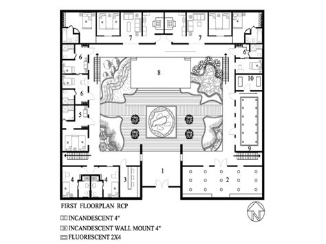 floor plans with courtyard modern small house plans small house plans with courtyard home plans with courtyards