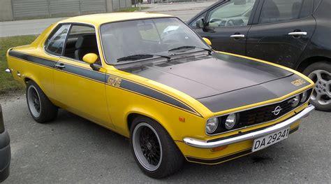 Opel Manta Gt by Opel Manta Gt E Rossingen Flickr