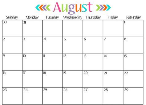 free printable 2017 monthly calendar calendar printable