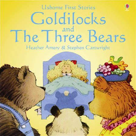 goldilocks and the three bears picture book nursery week of jan 25 29
