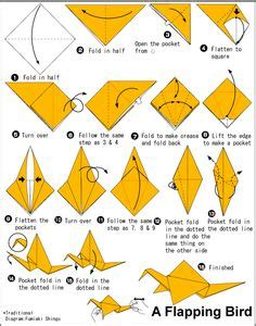 how to make a bird with origami origami animals bird on origami birds origami