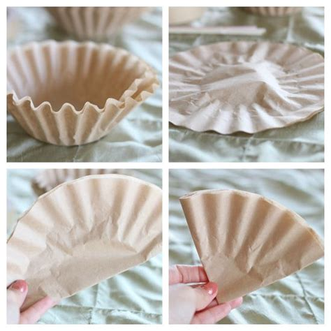 coffee filter paper crafts 25 best ideas about coffee filter roses on