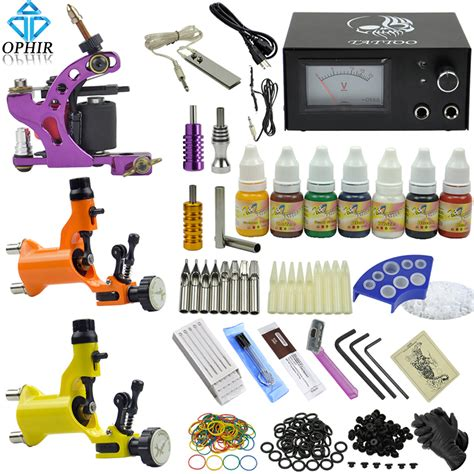 ophir professional 3 dragonfly rotary tattoo machine guns