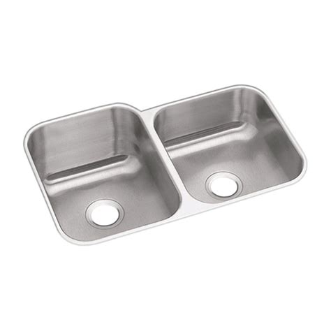 elkay stainless steel kitchen sinks elkay dayton undermount stainless steel 32 in