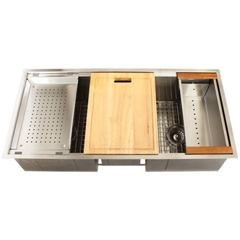 kitchen sink accessory ticor tr1900 undermount 16 stainless steel