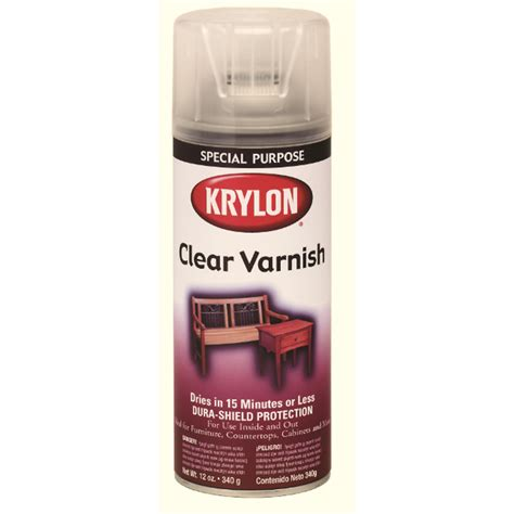 spray painter lowes shop krylon 12 oz clear satin spray paint at lowes