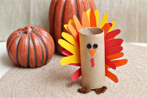 toilet paper turkey craft thanksgiving crafts for babies 5 handprint turkeys to try