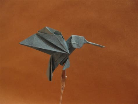 hummingbird origami origami hummingbird by orimin on deviantart