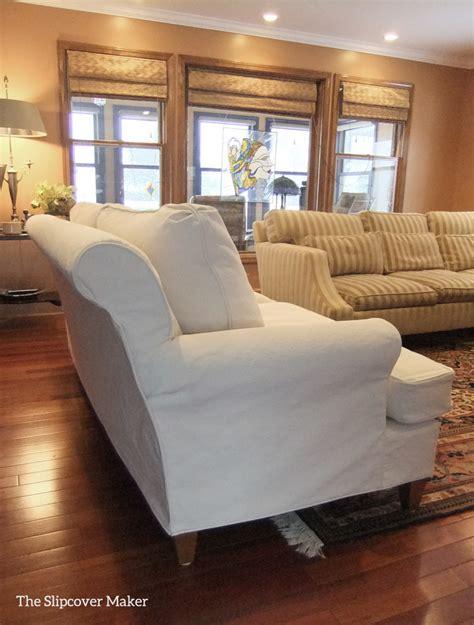 denim sofa slipcovers the slipcover maker custom slipcovers tailored to fit
