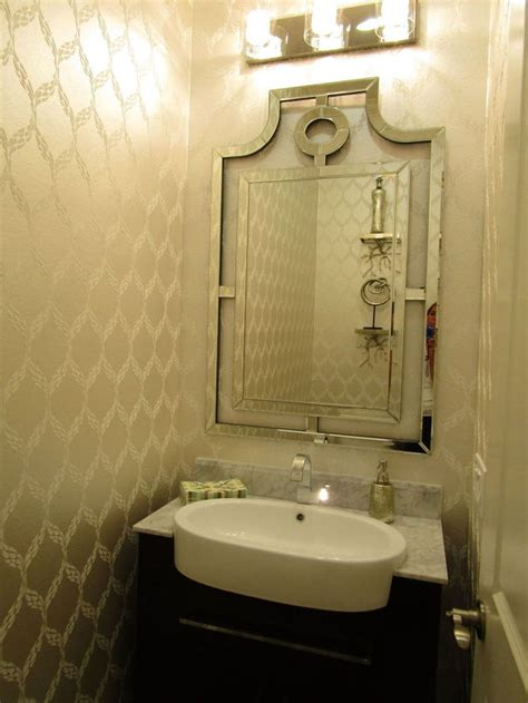 small powder bathroom ideas before after builder basic powder room to beautiful hometalk