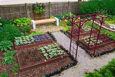 vegetable garden design ideas gardening