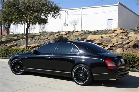 Black Maybach by Maybach 62 Price Modifications Pictures Moibibiki