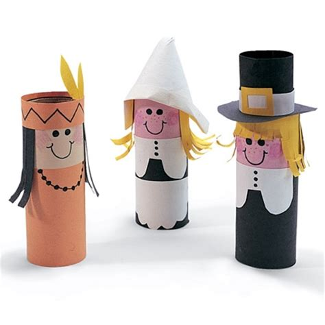 pilgrim crafts for thanksgiving toilet paper roll craft