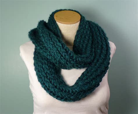 how to loom knit an infinity scarf knit infinity scarf loom knit loop scarf green blue infinity
