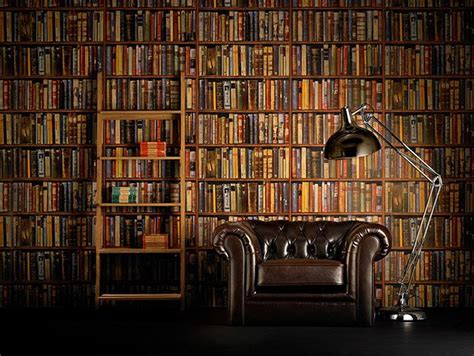 library book pictures interiors faking it in pictures style panelling and